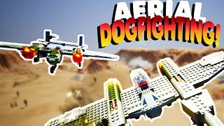 LEGO AERIAL DOGFIGHTING & PLANES! | Lets Play Brick Rigs Gameplay (Kid Friendly Gaming FUN!)