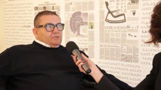 Slamp - salone del mobile 2013 - Interview with Roberto Ziliani (it)
