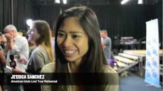 "Jessica Sanchez Interview  ""Zayn Malik Is REALLY Cute!"" PLUS Idols Live! Tour & NEW ALBUM Deets!"