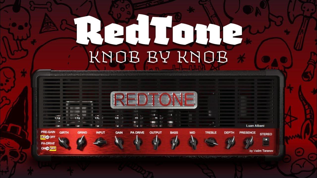 RedTone (Fortin Natas)   KNOB by KNOB   By Vadim Taranov Amp vst by Devil's  Lab