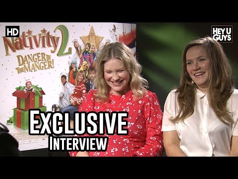 Joanna Page & Jessica Hynes  The Nativity 2 Exclusive