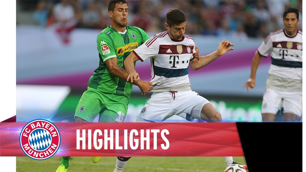 gladbach bayern highlights