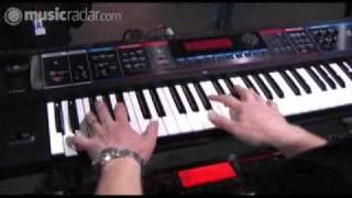 Roland Juno-Di demo at LIMS 2009
