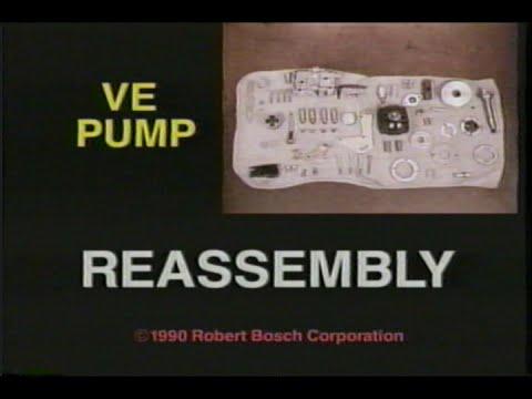 BOSCH VE-Pump Reassembly