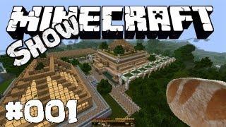 Die Minecraft Show #001 Die Pilotfolge deutsch HD Let's Show mit Gadarol und Lucas