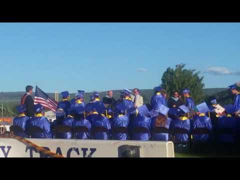 Jon's Crook County High School Graduation