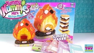 Yummy Nummies S'More Maker DIY Cooking Fun Toy Unboxing Review | PSToyReviews