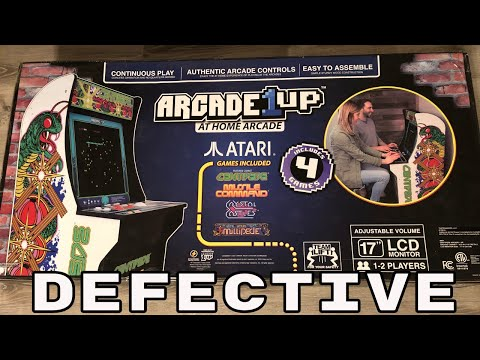 My Arcade 1up Home Shipped to Me Defective!
