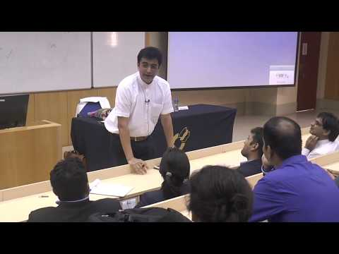 Dr. Ajoy Kumar visits IIM Indore for guest lecture - Part I