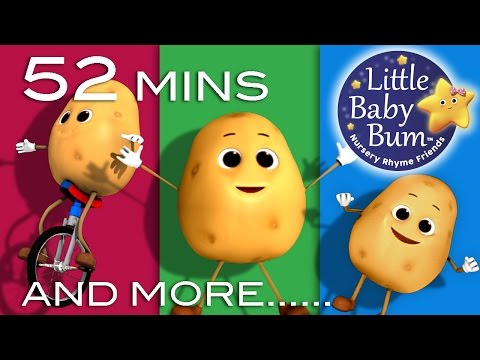 One Potato Two Potato | Plus Lots More Nursery Rhymes | 52 Minutes Compilation from LittleBabyBum!