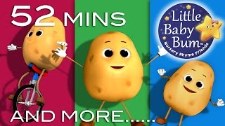 One Potato Two Potato | And Other Nursery Rhymes | 52 Minutes Compilation from LittleBabyBum