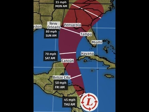 "Prophecy Alert: ""Hurricane Nate""/ Invest 90-L Headed For Gulf States Soon!!"