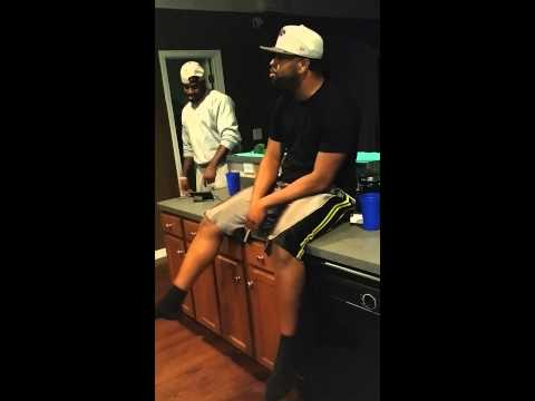 """Me and the homie singing """"112-Crazy over you"""""""