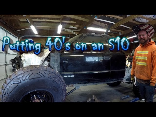 INTRODUCING Project S10 Truggy. Putting 40s on a S10