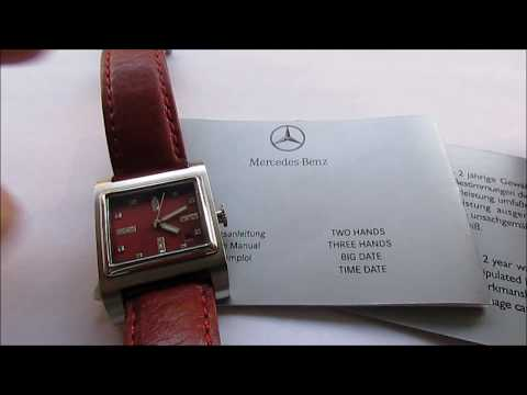 Mercedes Benz Collection Lady Wristwatch