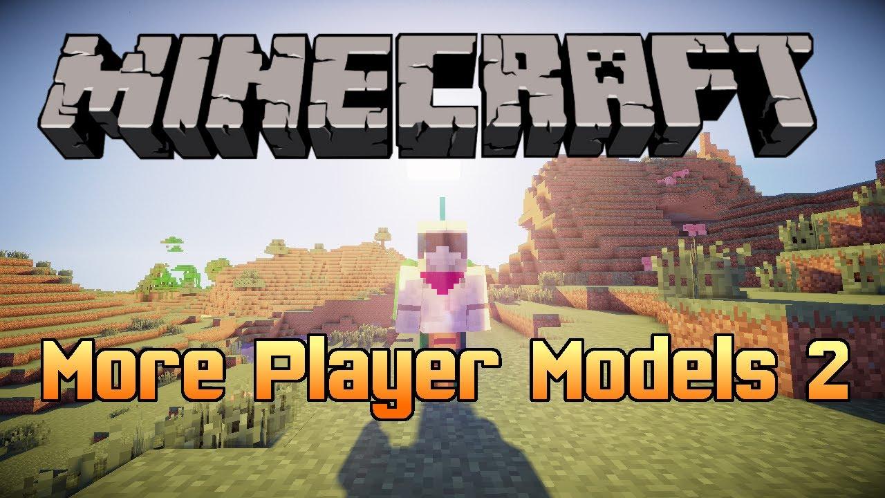 Minecraft Mod More Player Models YouTube - Minecraft spieler finden mod