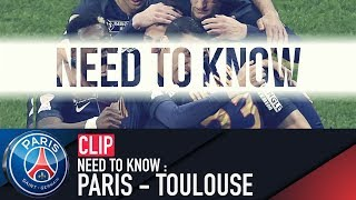 NEED TO KNOW : PARIS - TOULOUSE