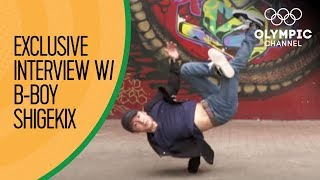 B-Boy Shigekix Wants Breaking Gold at Buenos Aires 2018 | Exclusive Interview