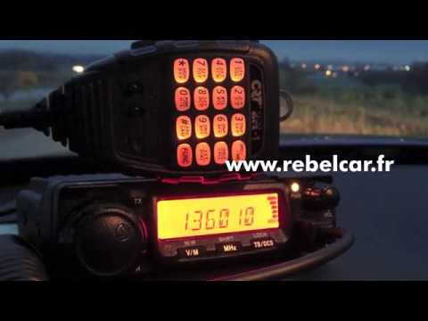 Test Radio VHF CRT 2M - Rebelcar.fr