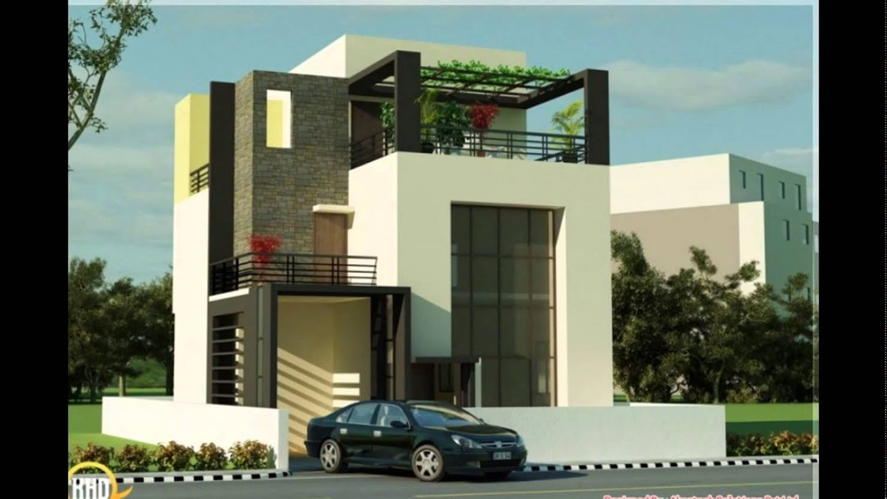 Small house plans modern small modern house plans modern small house plans youtube for Small modern house designs and floor plans