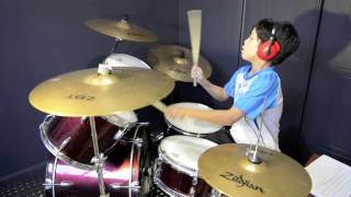 Rude - MAGIC! - Drum Cover By 11 Year Old Joh Kotoda