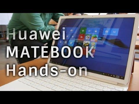 Huawei MateBook E and X hands-on: a better keyboard makes a better laptop?