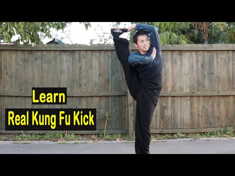 Shaolin Kung Fu Wushu Fundamental kicks Training for Beginners