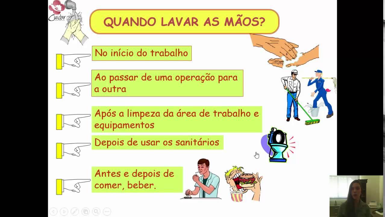 Amado CUIDAR: Higiene pessoal e do local de trabalho - YouTube PW85