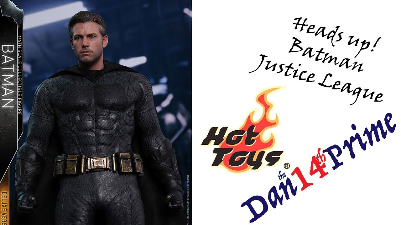 Heads Up! Batman Justice League MMS Hot Toys Pre-order Up