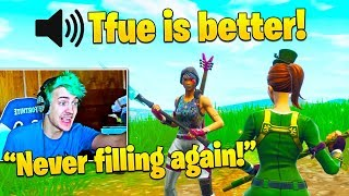 Ninja NEVER Playing Duo Fill After This TOXIC Teammate! His Thoughts on Trash Talkers