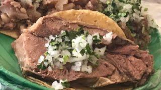 INCREÍBLES Tacos de LENGUA GIGANTES