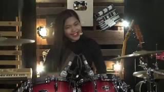 A Ramlie - Hidup Bersama Drum Cover I LIVE - Nur Amira Syahira