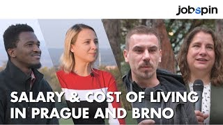 Salary and Cost of Living in Prague and Brno 2019