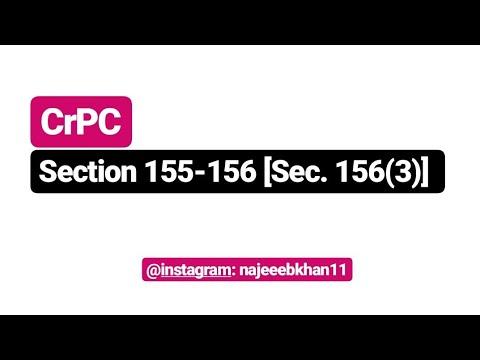Sec.155-156 [Sec. 156(3)] CrPC