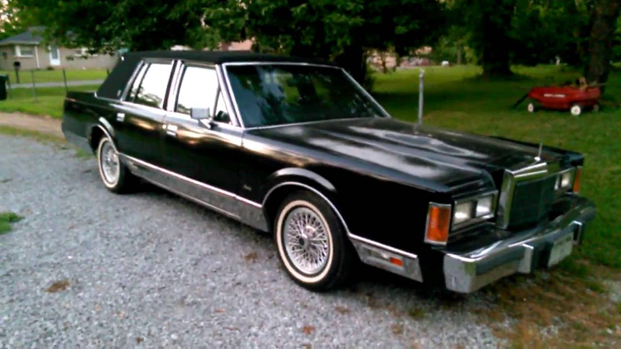 medium resolution of update video 1989 lincoln town car signature series
