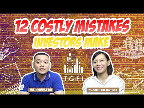 12 Costly Mistakes Investors Make