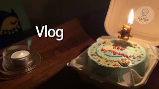 Vlog | 남자친구 생일 • 20대 영양제 추천 • …