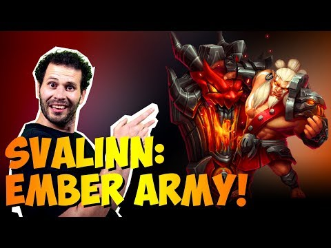 Svalinn Ember Army WRECKING Waves Castle Clash