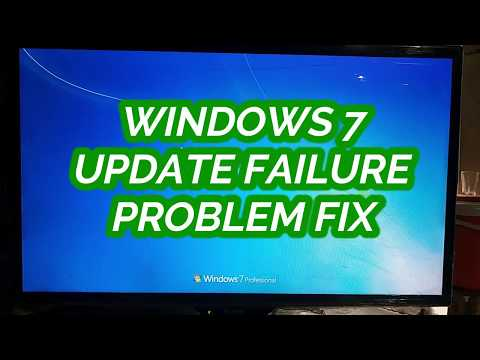 Windows 7 Update Failure | Failure Configuration | Reverting Changes | Fix | Without Data Loss