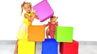 Дети и волшебные коробки с сюрпризами