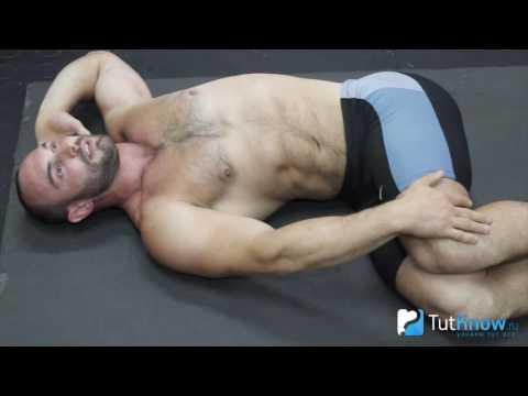 Скручивания для косых мышц живота
