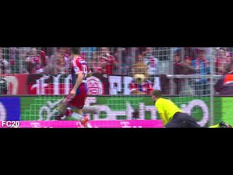 All Bayern München Goals 2014/2015 - Part 1 - First Half of Season