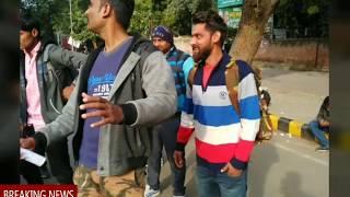 SSC GD 2011||असीम खुराना मुर्दाबाद||राजनाथ सिंह होश में आओ||एसएससी हाय हाय||दिखिए धरने की भव्य झलक
