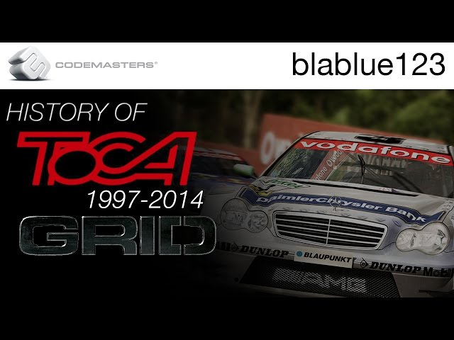 History of - TOCA & GRID (1997-2014) | blablue123