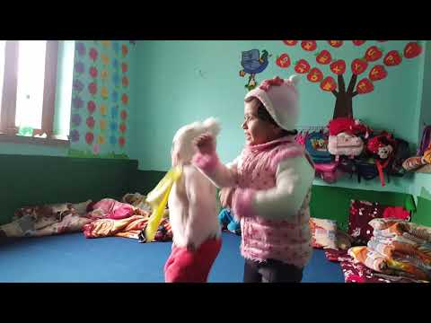 Five little monkeys and other rhymes from cute kids of Kids Kinderland Montessori