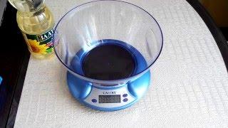 Обзор Электронные Настольные с чашей Кухонные ВЕСЫ CAMRY EK3130 (Дизайн, Взвешивание, Цена)