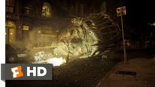 Cloverfield (1/9) Movie CLIP - The Statue of Liberty's Head (2008) HD