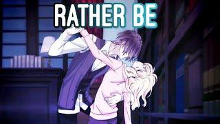 Diabolik Lovers AMV - Reiji x Yui - Rather be