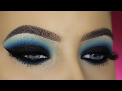 Blue Smokey Eyes Tutorial