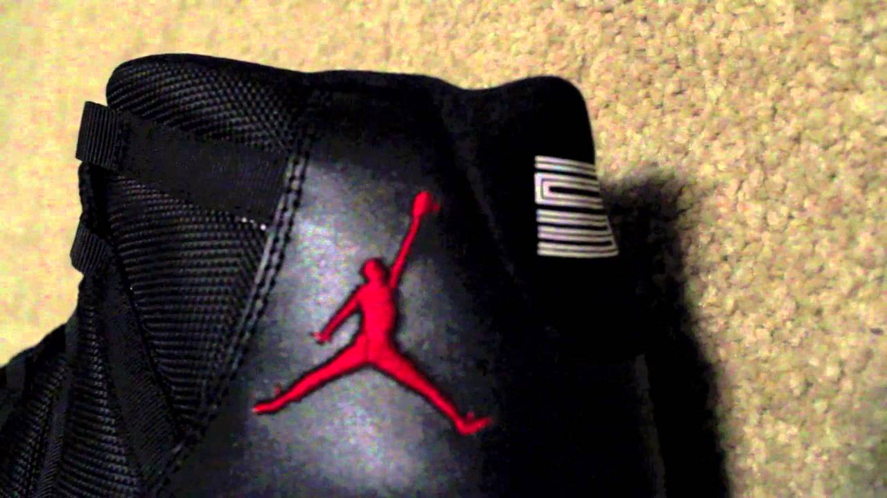 b50be2e968300 Air Jordan Retro 11 Bred Review - www.KicksWorld.cn - Unauthorized Authentic !
